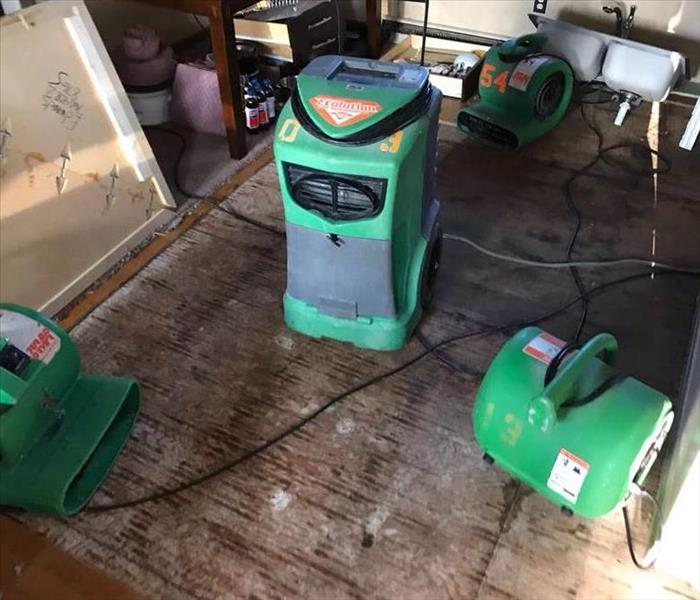 Water Damage Cleanup With Our Special Equipment