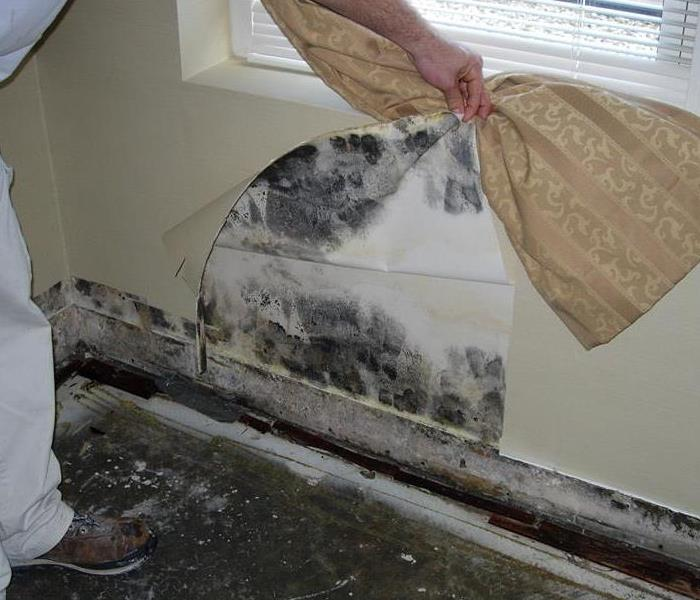 Water Damage With any leak it's the water you don't see that causes the most damage